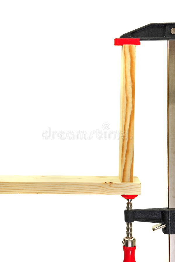Download Wood clamp stock image. Image of hobby, join, wood, craft - 13653913