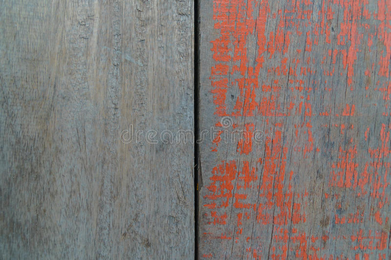 Wood and colored wood background ,floor of fishing boat. stock photography
