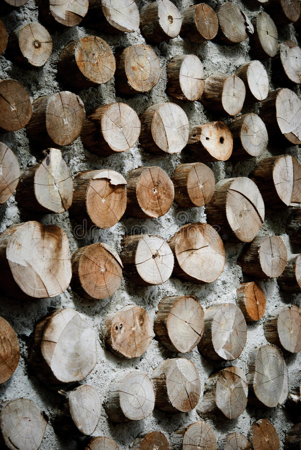 Wood in concrete wall stock image. Image of background - 50843953