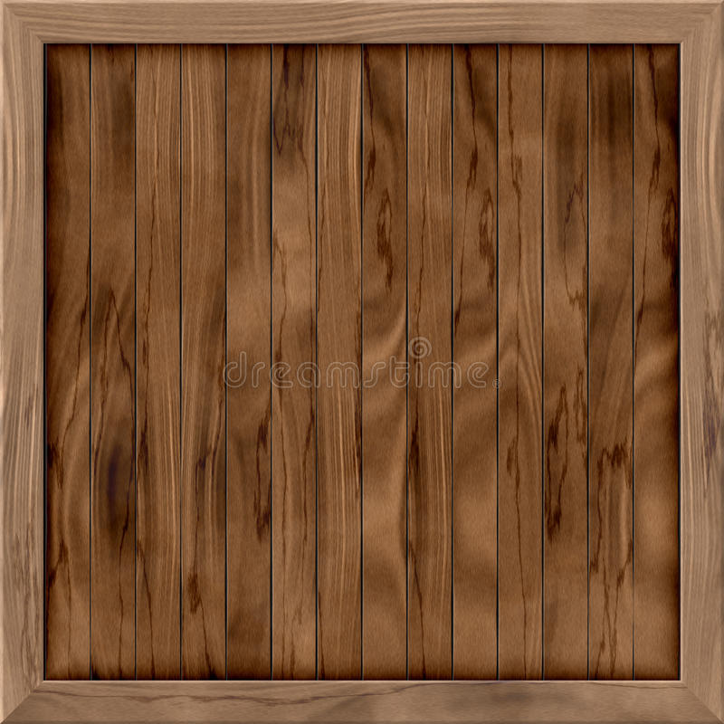 Download Wood Crate Generated Hires Texture Stock Illustration