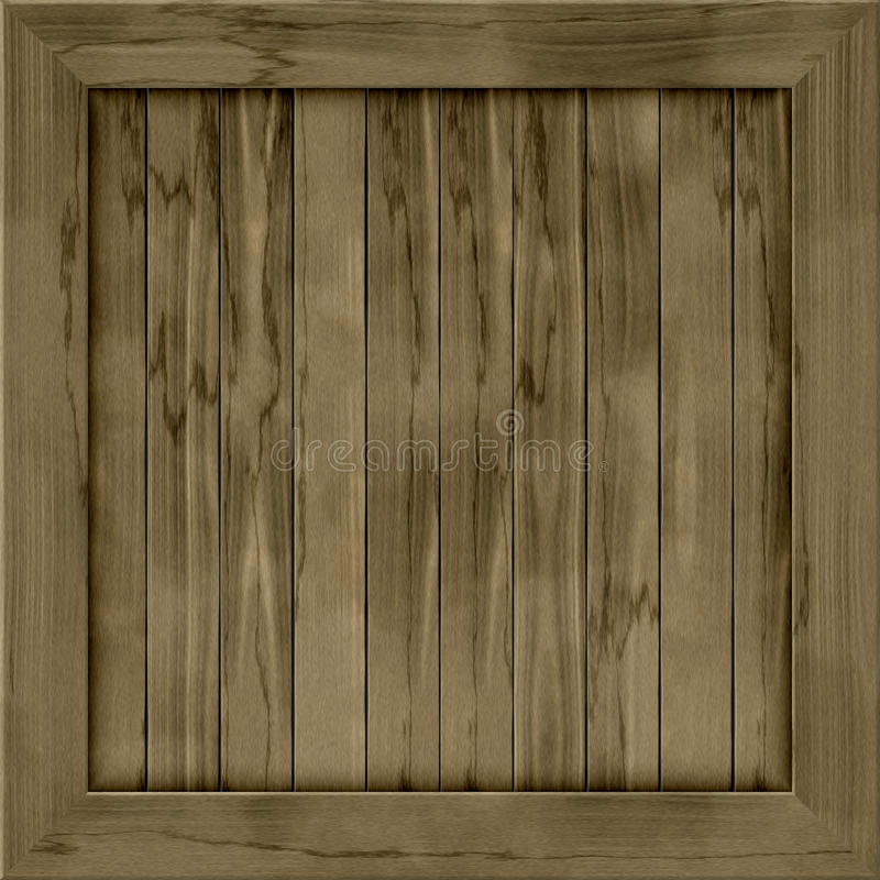 Wood crate generated hires texture vector illustration