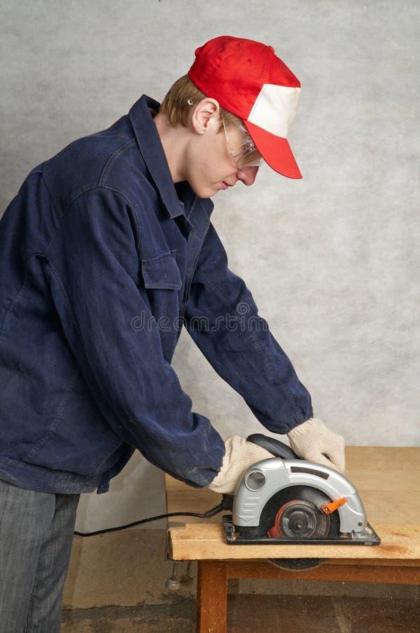 Download Wood cutting stock image. Image of circular, electric - 10904863