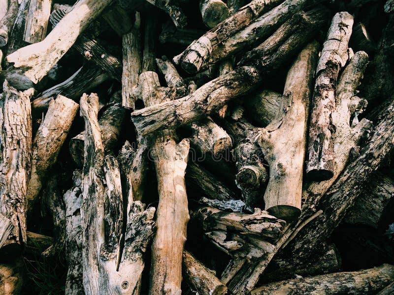 Wood& x27 ; décharge de s photographie stock libre de droits