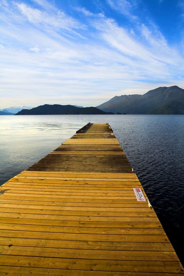 Wood deck stock photos