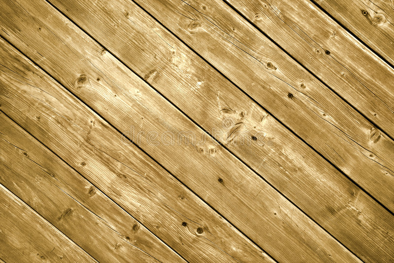 Wood decking planks. stock photo