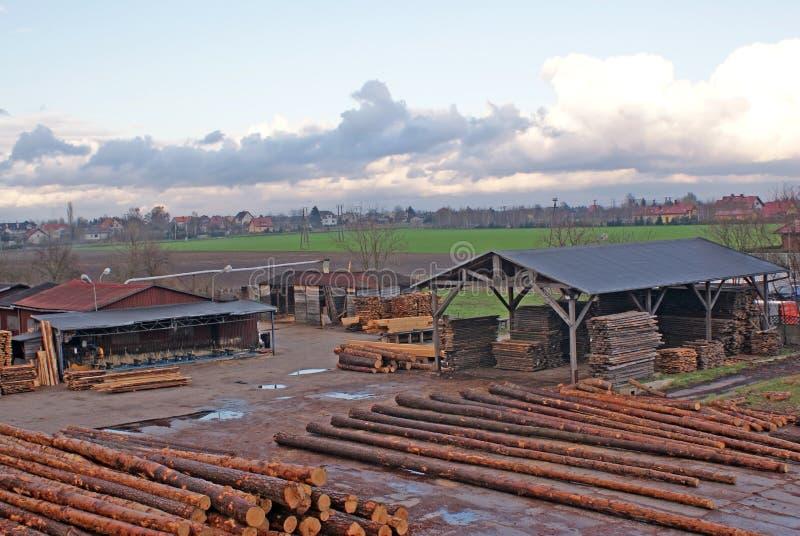 Wood deposit