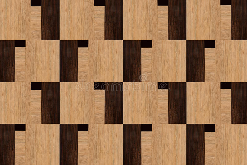 Wood design with Rosewood and Ramin stock images