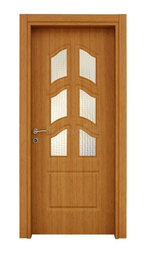 Wood door royalty free stock photos