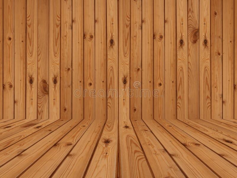 Wood durk och vägg royaltyfri foto
