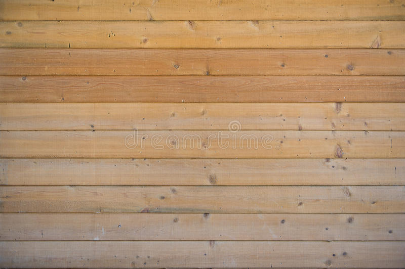 Wood Fence. A traditional wood fence shot of horizontal wood planks royalty free stock photography
