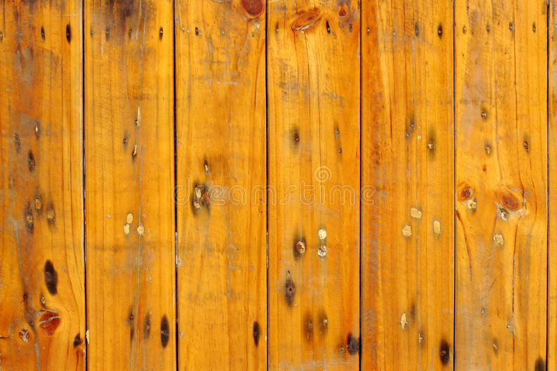 Wood fencing stock image