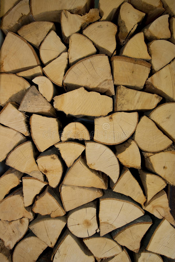 Wood for fire stock images