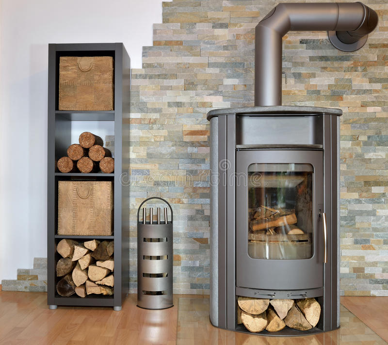 Free Wood Fired Stove Stock Image - 36026281
