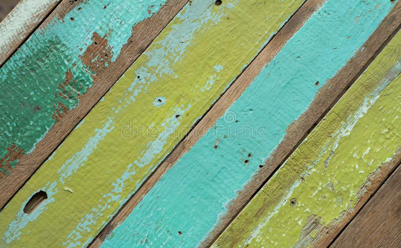 Wood floor old ,Oblique royalty free stock photos