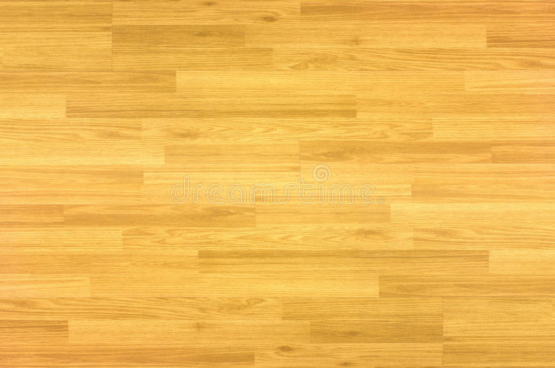 Wood floor parquet hardwood maple basketball court floor viewed. From above for design texture pattern and background royalty free stock photography
