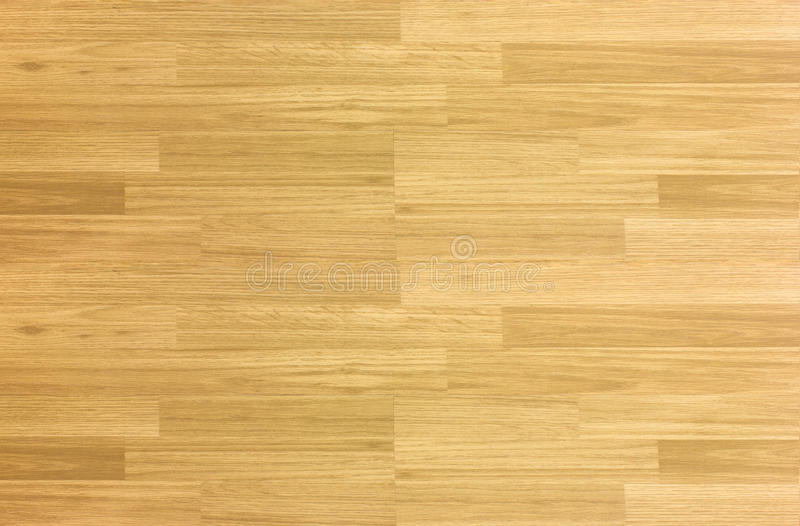 Wood floor parquet hardwood maple basketball court floor viewed. From above for design texture pattern and background stock image