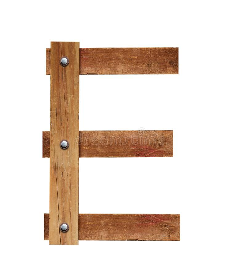 Free Wood Font, Wooden Plank Font Letter A To Z, 1 To 10 Letters Made Out Of Wooden Planks Royalty Free Stock Photography - 174275817
