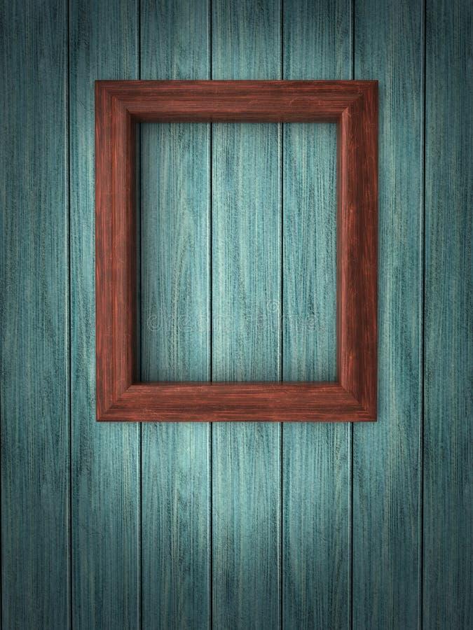 Free Wood Frame On Paneling Stock Image - 21167451