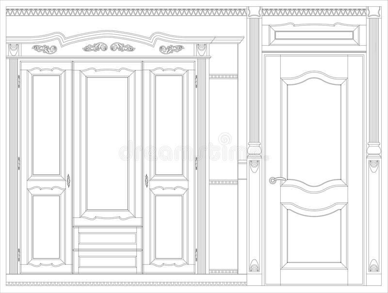 Wood furniture blueprint stock illustration illustration of download wood furniture blueprint stock illustration illustration of isolated 17388763 malvernweather Gallery