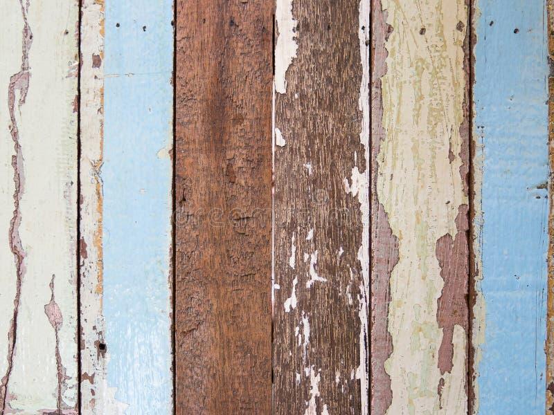 wood gammal målad planka fotografering för bildbyråer