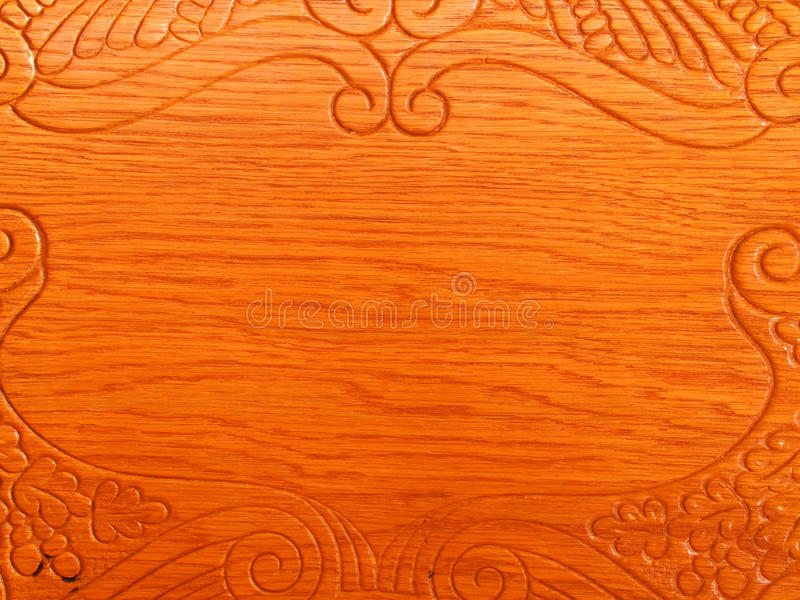 Wood grain and design royalty free stock photo