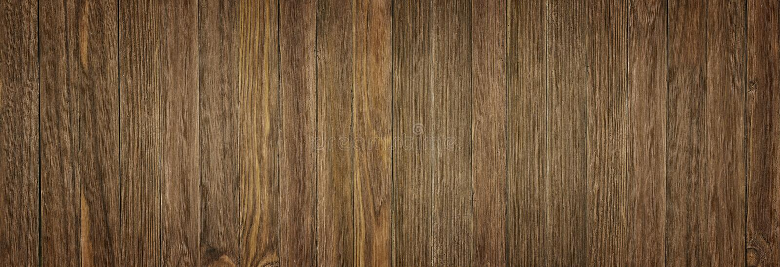 Real natural wood texture and surface background, panorama royalty free stock images