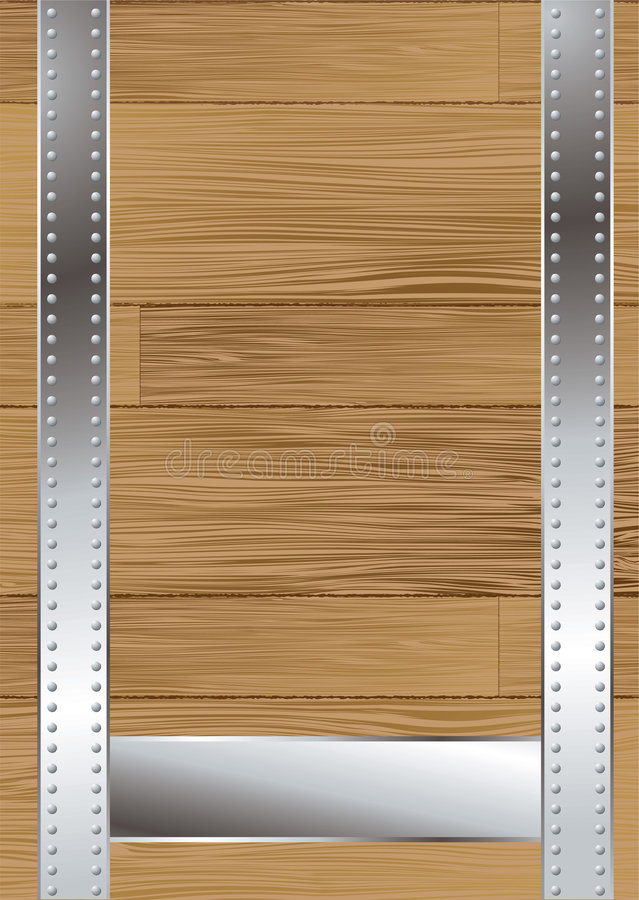 Download Wood grain strap stock vector. Illustration of surface - 6761700