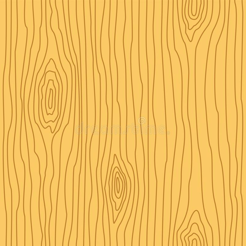Wood grain texture. Seamless wooden pattern. Abstract line background. royalty free illustration