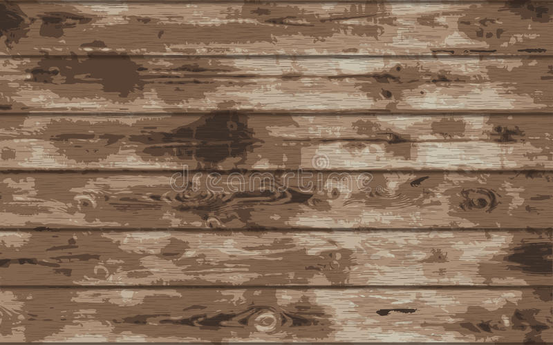 Wood grungetextur Realistisk wood textur Illustration för vektor eps10 royaltyfri illustrationer