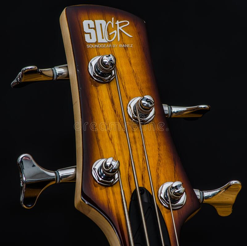 Wood guitar struts royalty free stock images