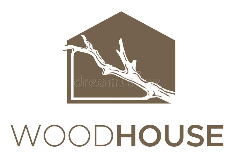 Wood House Bold royalty free stock images