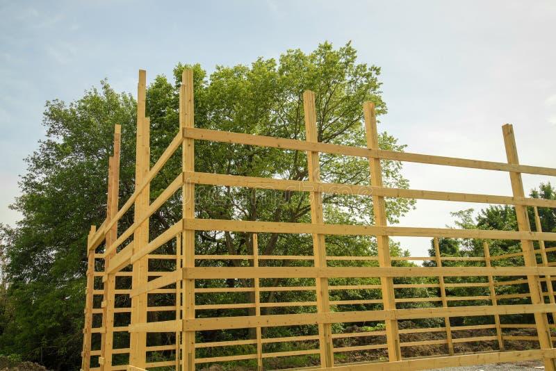 Wood inrama för ladugård royaltyfria foton