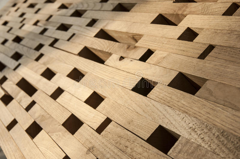 Wood inserction royaltyfri bild