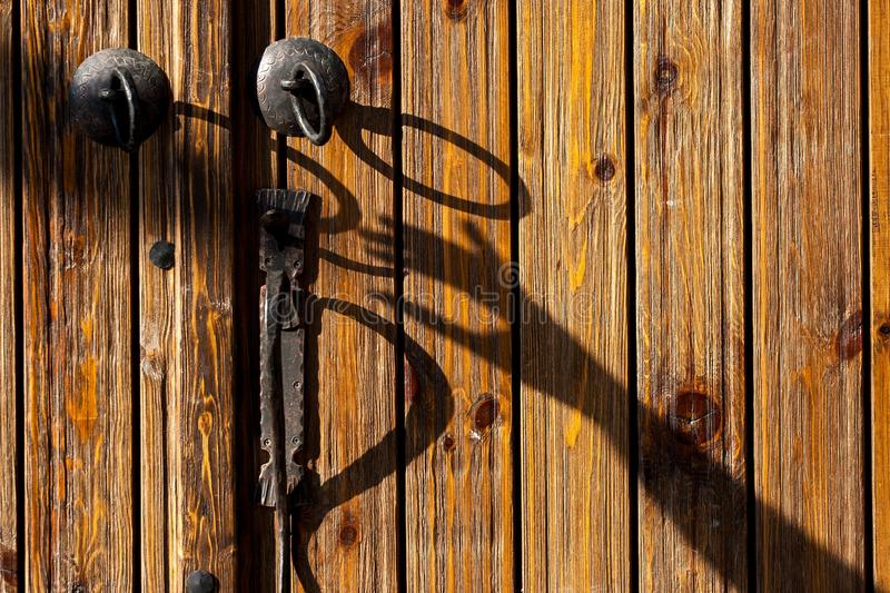 Wood, Iron, Wall, Metal stock images