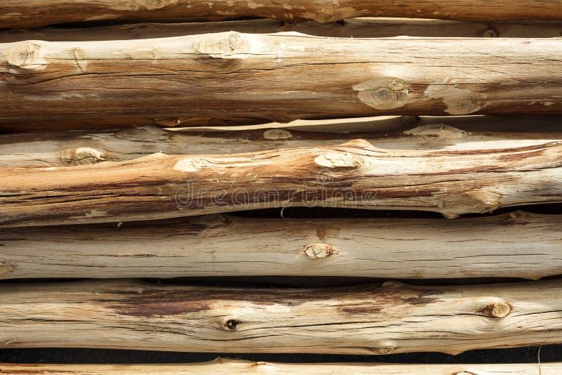 Wood journalmodell som bakgrund arkivfoton