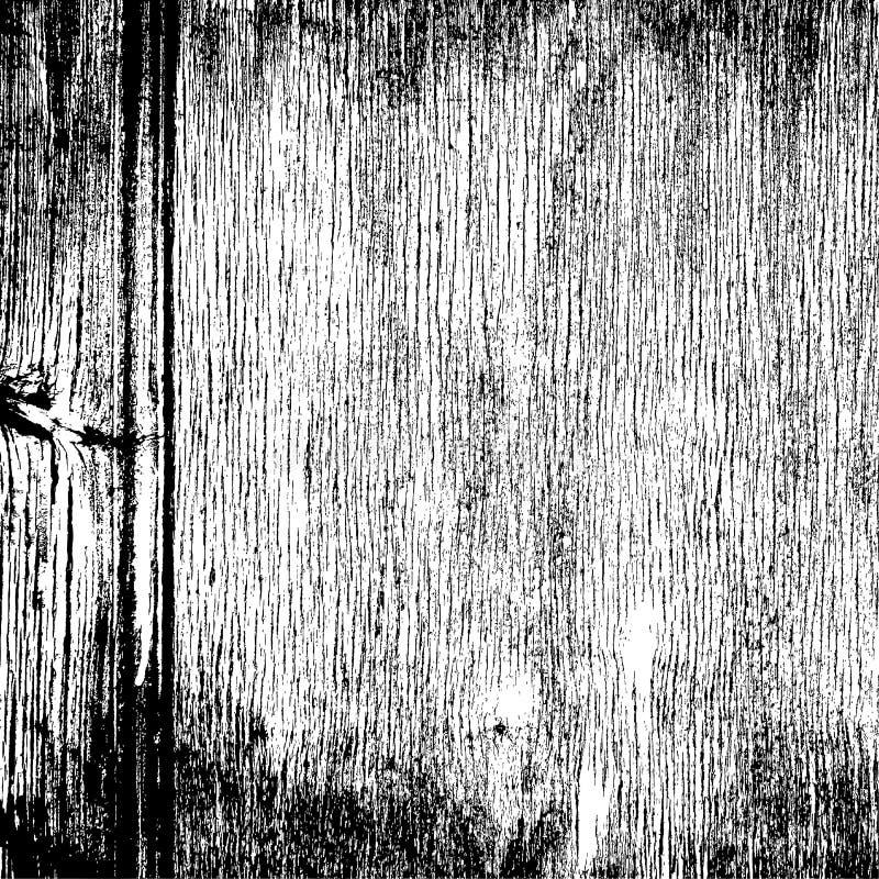 Wood kornig textur royaltyfri illustrationer