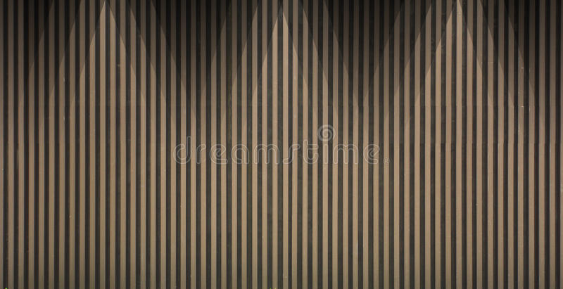 Wood lath wall background. And texture stock images