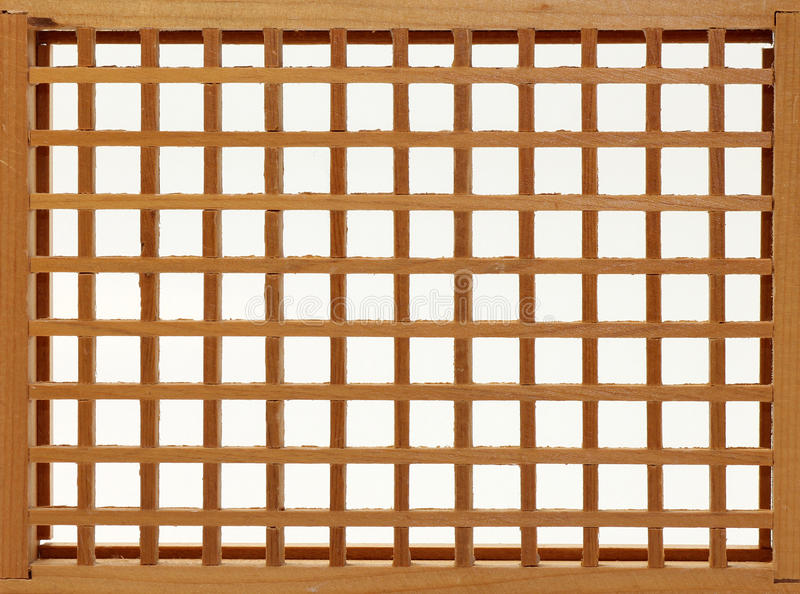 Download Wood Lattice Frame stock photo. Image of rectangle, weave - 17498756