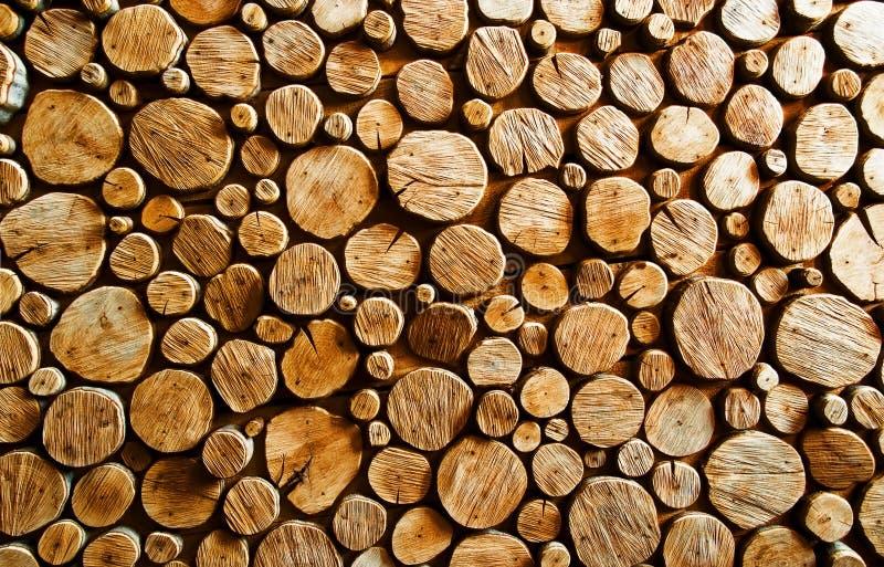 Wood log backround royalty free stock photo
