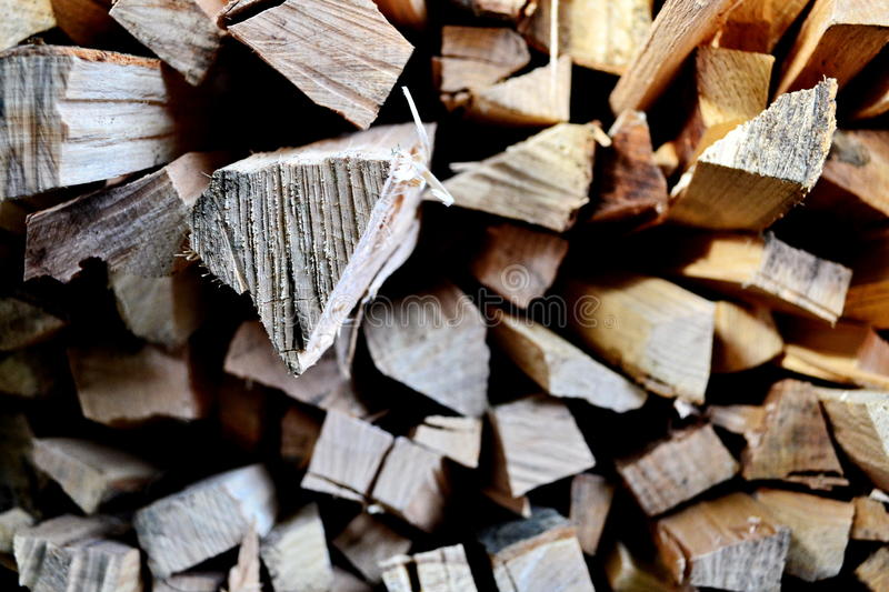 Wood logs royalty free stock image