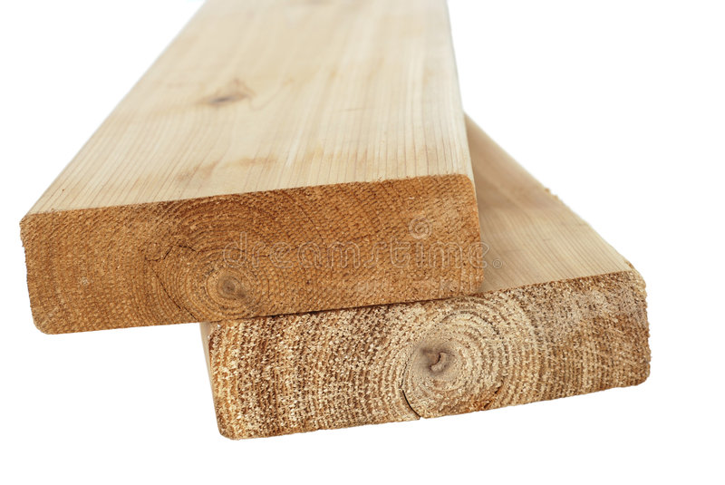 Wood Lumber Isolated stock images