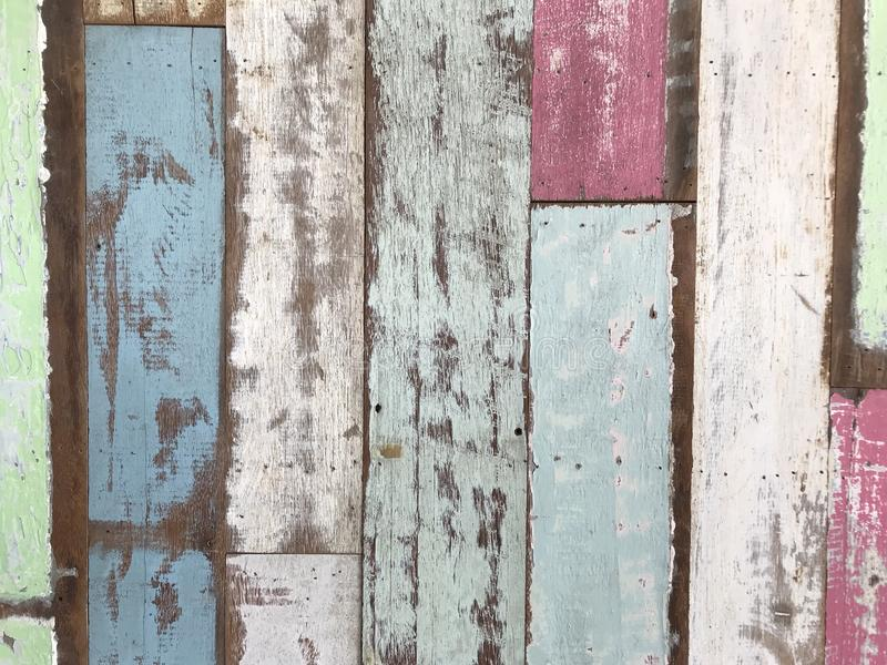Wood material background for vintage wallpaper royalty free stock image