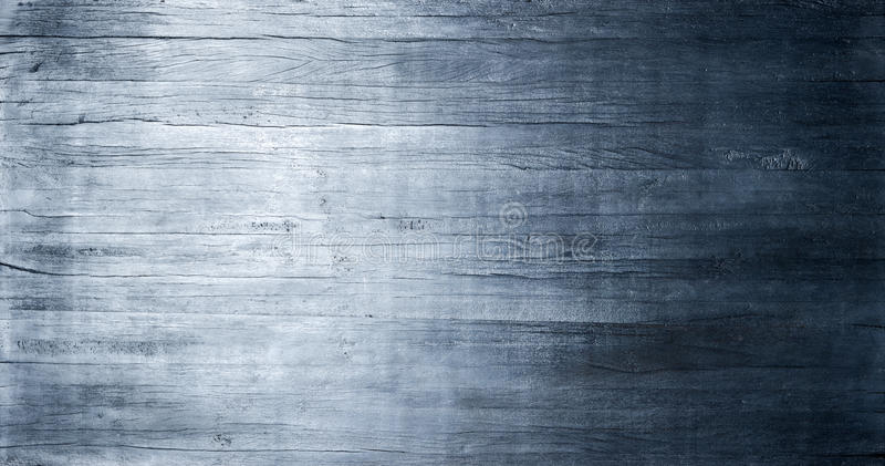 Blue Wood Metallic Texture Background. A rustic wood banner background with blue metallic tones