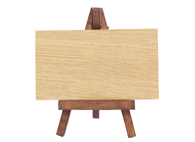 Wood notice board royalty free stock photo