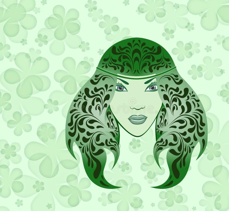 Download Wood nymph stock illustration. Illustration of petal - 13434177
