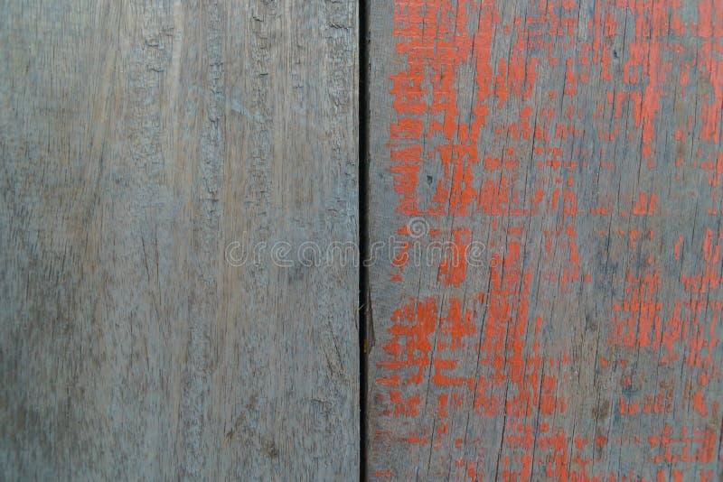 Wood och kulör wood bakgrund, golv av fiskebåten arkivbild