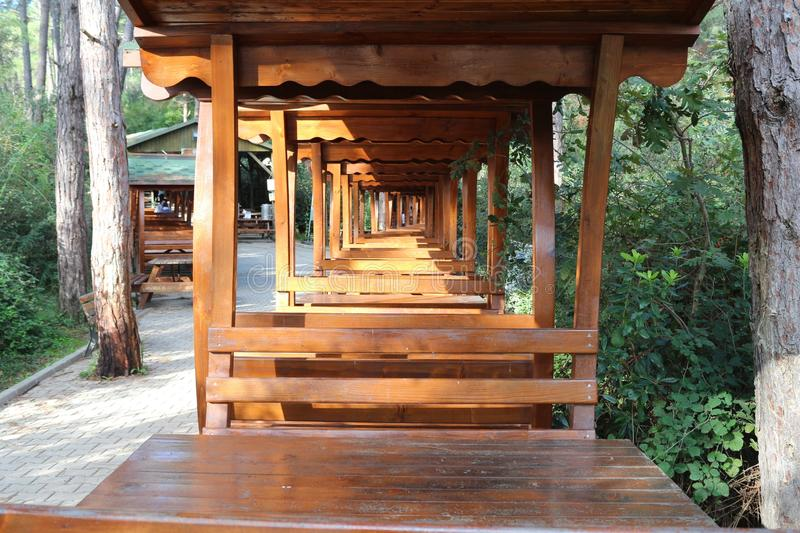 Wood, Outdoor Structure, Shinto Shrine, Log Cabin royalty free stock image