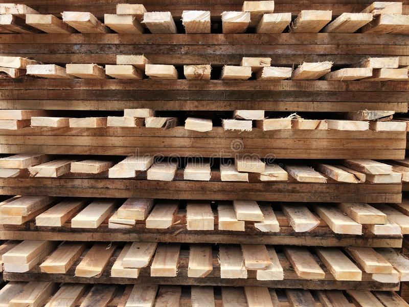 Wood pallet stock photography