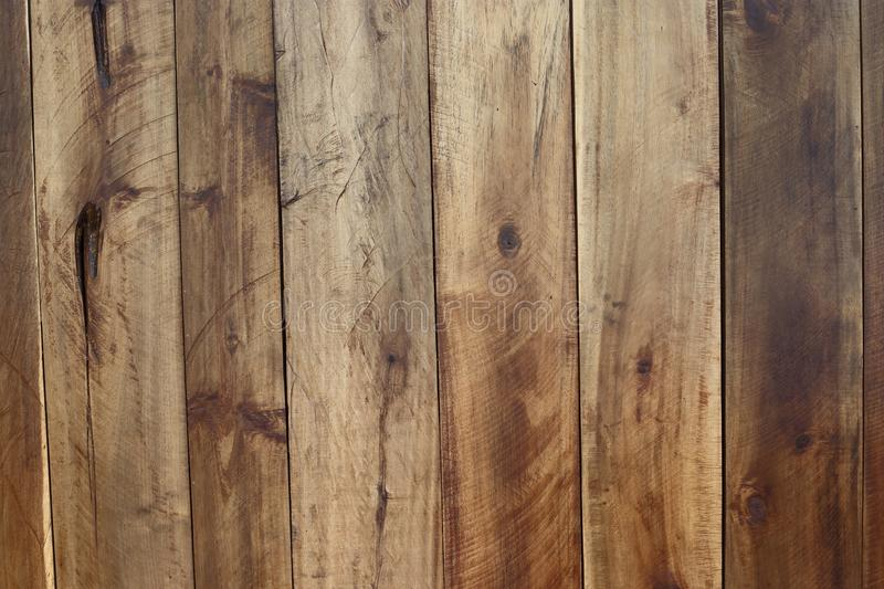 Wood Panel Background, natural brown color, stack vertical to sh. Ow grain texture as wall decorative forester stock images