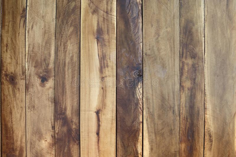 Wood Panel Background, natural brown color, stack vertical to sh. Ow grain texture as wall decorative forester stock photos